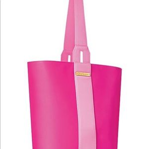 NEW WITH TAGS PINK JUICY COUTURE BUCKET BAG TOTE